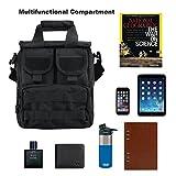 Vertical Messenger Molle Bag Shoulder Handbag
