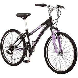 """24"""" Schwinn Sidewinder Girls' Mountain Bike   21 Speeds with Shimano Rear Derailleur"""