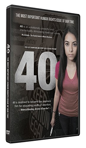 40 Film DVD- With Study Guide-Abortion Debate-Millions Aborted-Roe v Wade-Life-Death-The Book of Life-Against Abortion and Death-Catholic Answers- Catholic Church and Science-Basics for Catholics-Catholic Bible Study- Pro Life- Not Pro Choice -  Rated G, John Morales, Lilia Rose