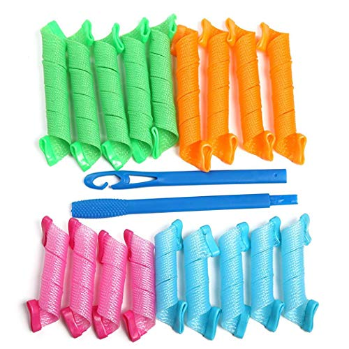 Corgy Durable DIY Hair Curler Home Hair Rollers Hair Styling T Hair Rollers from Corgy