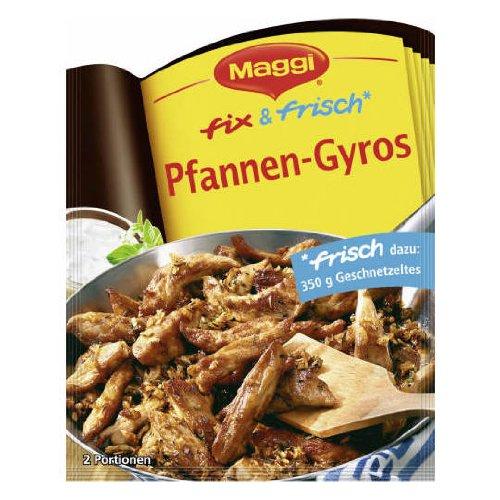 Maggi Fix (MAGGI fix & fresh gyro (Pfannen-Gyros) (Pack of 4))