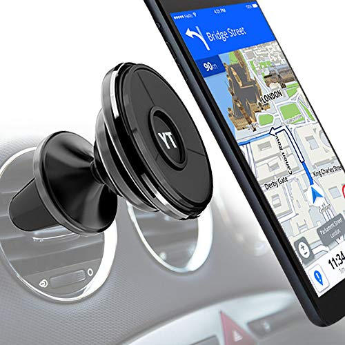 YOUTIME Car Phone Mount, Universal Rotation Air Vent Car Phone Holder Nano Suction Cup Phone Holder for Car Vent Compatible with iPhone/iPad/Samsung/LG/Nexus/Sony/Nokia and More