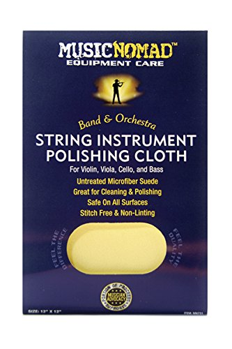Music Nomad MN731 String Instrument Premium Microfiber Polishing Cloth