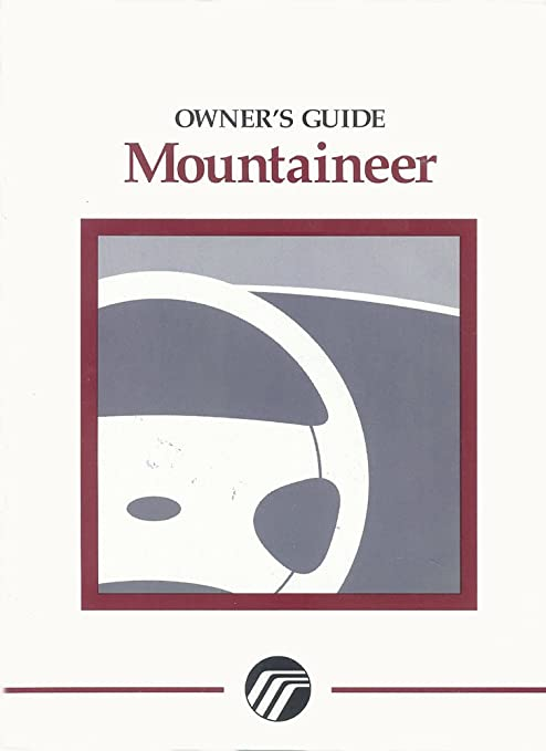 amazon com bishko automotive literature 1997 mercury mountaineer rh amazon com Mercury Mountaineer Engine Diagram 1997 mercury mountaineer service manual