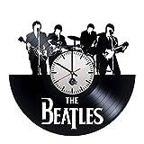 The Beatles Music Band Handmade Vinyl Record Wall Clock Fun gift Vintage Uniq…