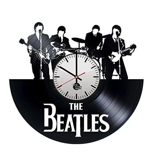 The Beatles Music Band Handmade Vinyl Record Wall Clock Fun gift Vintage Uniq...