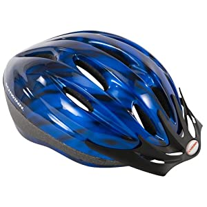 Schwinn Intercept Adult Micro Bicycle Helmet (Blue,Adult)