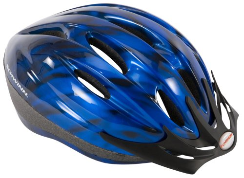 Schwinn Intercept Adult Micro Bicycle Helmet (Blue,Adult)