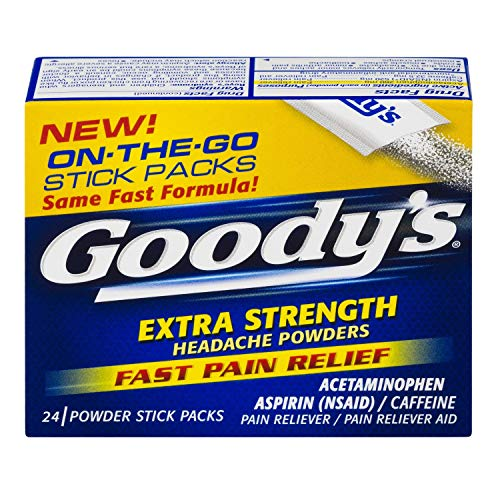 Goody's Extra Strength Headache Powder, 24-Count (Pack of 2)
