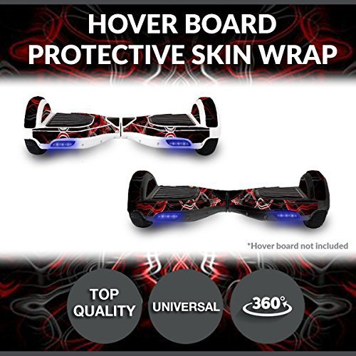 Self Balancing Electric Two Wheel Scooters - Hoverboard Protective Skin Skate Wrap - Balance Scooter Motorized Longboard Stickers