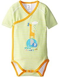 Unisex baby 1 2 3 Screen Short Sleeve Wrap