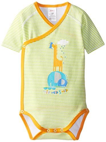 (Zutano Unisex-baby Infant 1-2-3 Screen Short Sleeve Wrap, Lime, 6 Months)