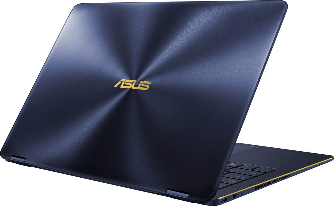 ASUS ZenBook Flip S UX370UA 13.3-inch Touchscreen 2-in-1 Laptop 8th Gen Intel Core i7-8550U, Windows Hello, ASUS Pen & Windows Ink (2TB SSD|16GB Ram|Windows 10 Pro)