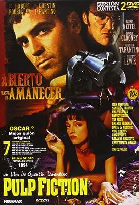 Pack: Pulp Fiction + Abierto Hasta El Amanecer [DVD]: Amazon.es ...