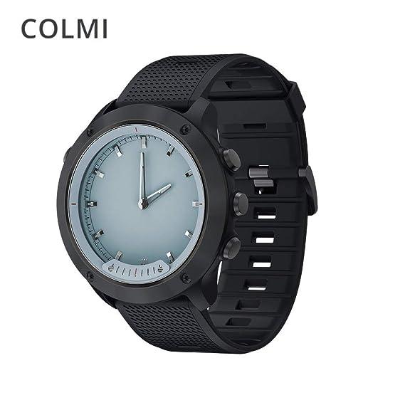 COLMI M5 Reloj Inteligente para Hombres Pantalla Clara Monitor de Ritmo cardíaco Relojes de Acero Inoxidable
