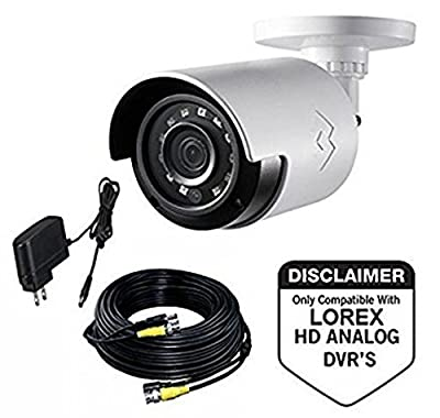 LOREX LBV2531 1080p HD MPX Bullet Camera, White from LOREX