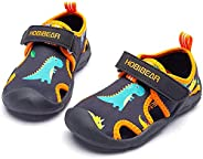 LOULAN Boys Girls Water Shoes Quick Dry Closed-Toe Aquatic Sport Sandals Kids Summer Beach Shoes for Toddler/L