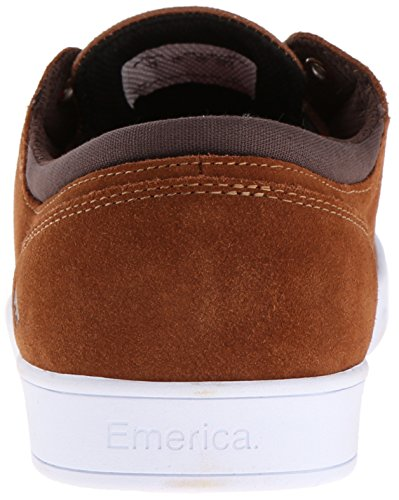 Emerica Figueroa (figgy) Scarpe Da Skate Marrone / Bianco