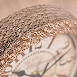 Nautical Rope Clocks
