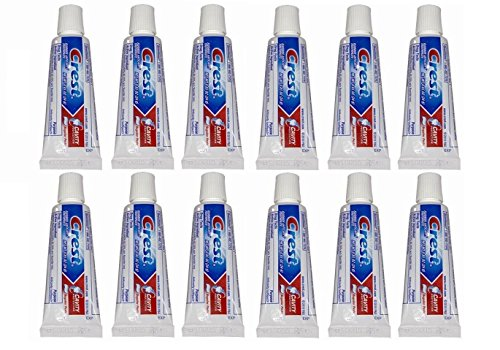 (Crest Kid's Cavity Protection Toothpaste, Sparkle Fun, Travel Size 0.85 Ounces (24g) - Pack of 12)