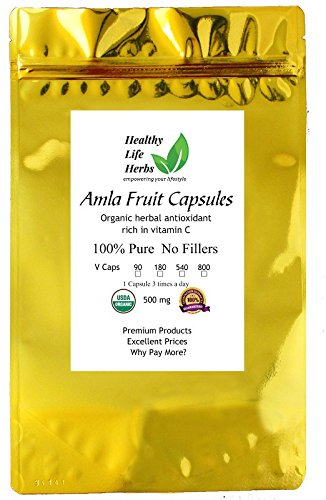 Amla Capsules 500 800 Certified product image