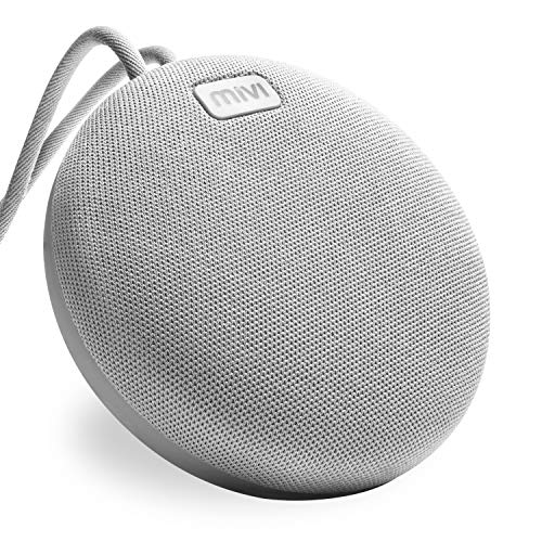 Mivi Roam Ultra-Portable Wireless Speaker with HD Sound, Booming Bass and 5Watts Peak Output-Grey 1