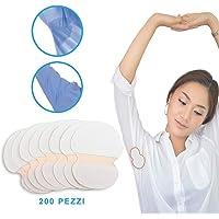 StillCool ascelle assorbenti 100/200pcs ascellare Ascella sudore traspirazione rilievi Scudo Absorbing assorbente (200 pcs)
