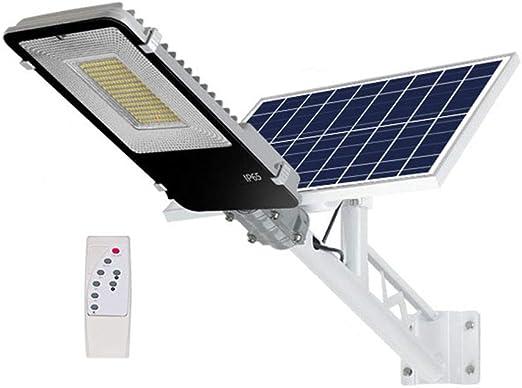 Farola Solar al Aire Libre, luz de Patio, 170W, 40000MAH, Adecuada para alumbrado público, cancha de Baloncesto, estacionamiento, área de jardín: Amazon.es: Hogar
