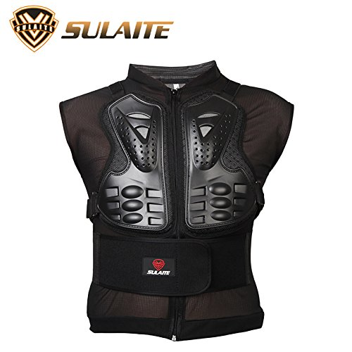 EDTara Protecting Vest for Motorcycle Riding Protective Gear Breathable Removable Sleeveless Armor Vest Ski Protective Gear