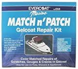 Evercoat 100668 Gel Coat Repair Kit, Match & Patch