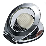 304 Stainless Steel Boiled Egg Slicer Section Cutter Multifunction Kitchen Accessories Kioos 2-in-1 Fruit Slicer Kitchen Essential Cooking Tools