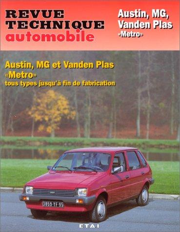 - Rta 428.4 Austin Mg Vanden Plas Métro et Métro Turbo