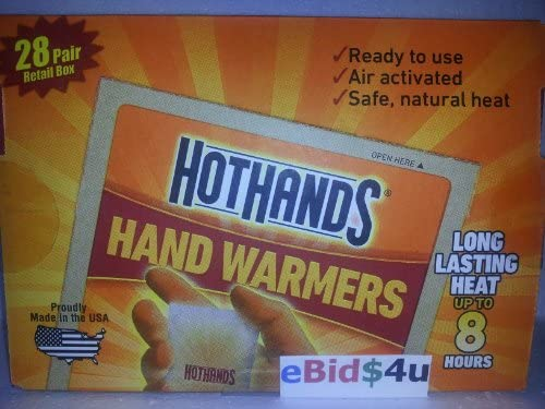 Amazon com: 28 Pair HotHands Hand Warmers: Sports & Outdoors