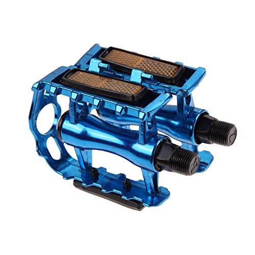 nacola 1ペアバイクペダルBMX MTBアルミニウム合金マウンテン自転車サイクリング9 / 16