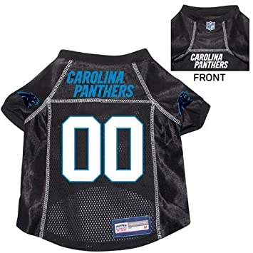 cheap for discount 28002 8bf73 Carolina Panthers Pet Dog Football Jersey XL