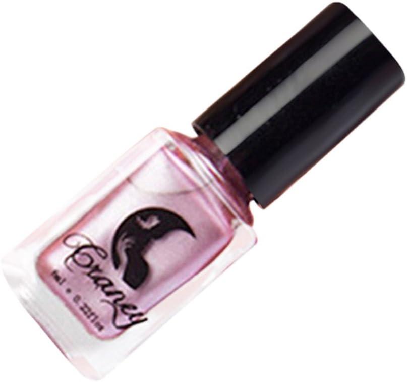 ❀ esmalte de uñas espejo cromo efecto, higlles Mirror Nail Polish, color metálico, metálico Nail Art Manicura 6 ml: Amazon.es: Belleza