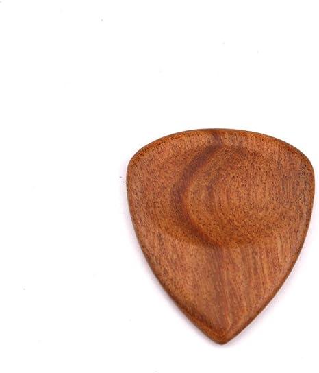 Lazder púas de madera para guitarra, bajo, forma de corazón ...