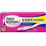 FIRST RESPONSE Pregnancy Test 6 Days Sooner 3 Each ( Pack of 3)