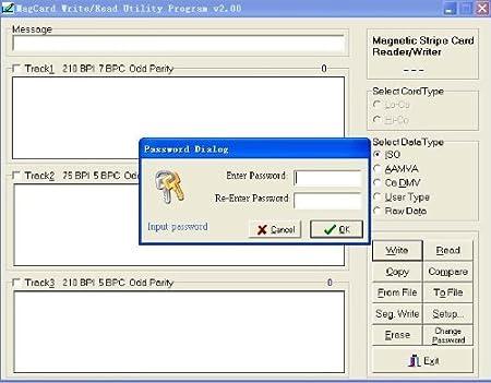 Magnetic Credit Card Reader Writer Encoder Software
