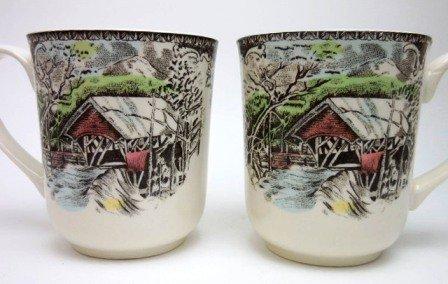 Johnson Brothers Friendly Village Mug Set of Two