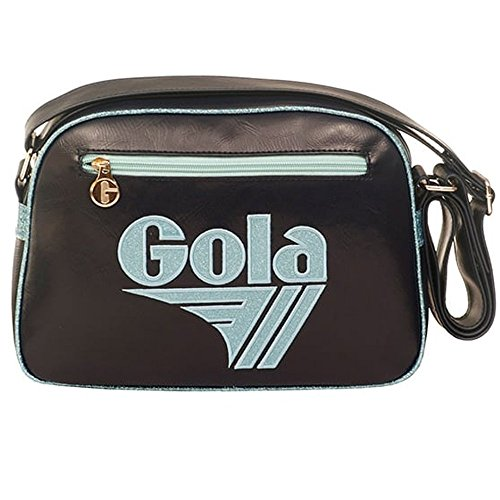 BORSA GOLA MINI REDFORD GLITTER NAVY - MINT
