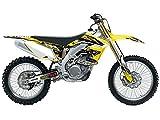2006 suzuki rmz 450 graphics - Team Racing Graphics kit for 2005-2006 Suzuki RMZ 450, ANALOG Complete Kit