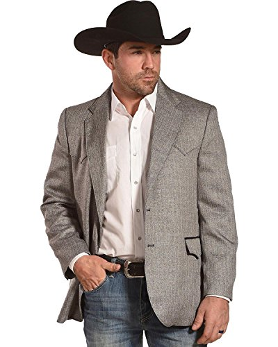 Circle S Men's Grey Herringbone Lubbock Sport Coat Big – Cc4549e-47-B&T