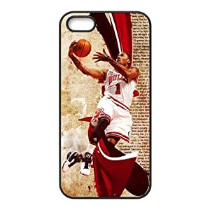 Lucky NBA Derrick Rose Chicago Bulls Basketbal For HTC One M7 Phone Case Cover