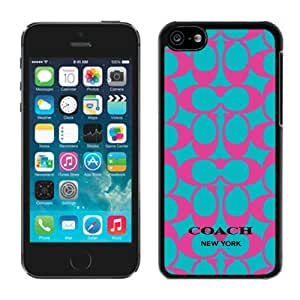 Hot Sale iPhone 5C Case ,Popular And Unique Designed With Coach 21 Black iPhone 5C High Quality Cover
