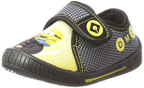 Minions De002953, Zapatillas de estar Por Casa Para Niños Grau (White/Grey/Black/Black)