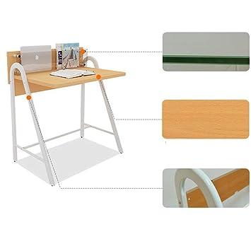 CWJ Mesa pequeña para el hogar con cajones Pc Estudio portátil ...