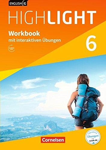 English G Highlight - Hauptschule: Band 6: 10. Schuljahr - Workbook mit interaktiven Übungen auf scook.de: Mit Audios online