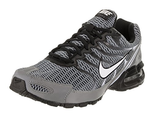 NIKE Men's Air Max Torch 4 Running Shoe Cool Grey/White/Black/Pure Platinum Size 13 M US