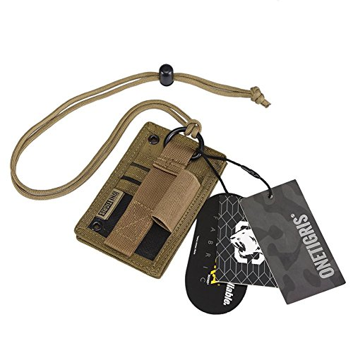 OneTigris Tactical ID Card Holder Hook & Loop Patch Badge Ho